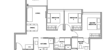royalgreen-floor-plan-3-bedroom-c1-singapore