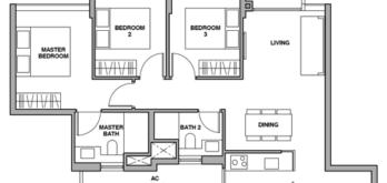 royalgreen-floor-plan-3-bedroom-c2-singapore
