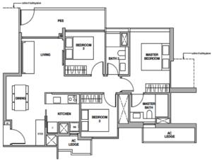 royalgreen-floor-plan-3-bedroom-c3-singapore
