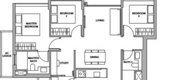 royalgreen-floor-plan-3-bedroom-study-cs1-singapore