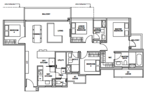 royalgreen-floor-plan-4-bedroom-premium-dp1-singapore